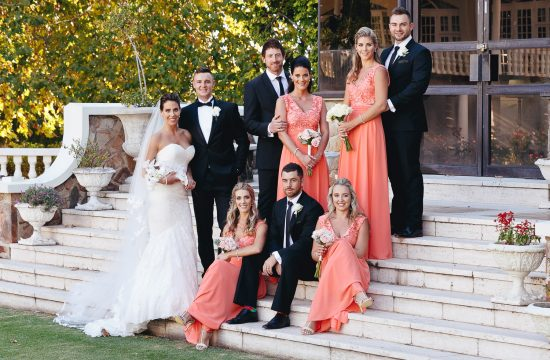 Group Portraits at Summer Place Sandton Weddings